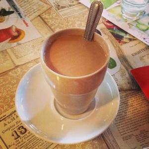 Mmmm...chai...napitak za poticanje mentalnih aktivnosti uvijek prija uz pisanje